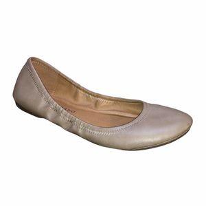 Lucky Brand Beige Emmie Round Toe Ballet Flats  7